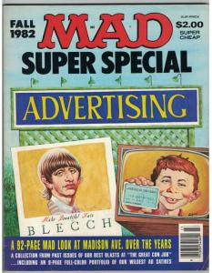 MAD SPECIAL (1982) 40 VG+ with 92 pp LOOK AT ADVERTISIN