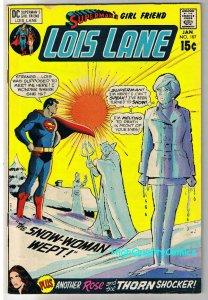 SUPERMAN'S GIRL FRIEND LOIS LANE 107, FN, Rose, Thorn, 1958