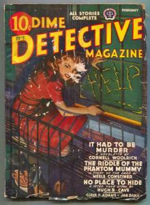 Dime Detective Pulp 2/42- REAR WINDOW HITCHCOCK source