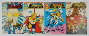 Stone Protectors #1-3 FN/VF/NM complete series + one-shot TROLL DOLL RARE SET 2