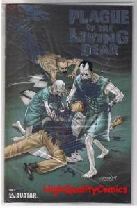 PLAGUE of the LIVING DEAD #3, NM+, Zombies, LIMITED, 2007, more Horror in store
