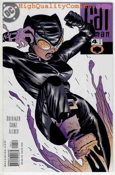CATWOMAN #4, NM+, Mike Allred, Ed Brubaker, Femme Fatale, 2002, more CW in store
