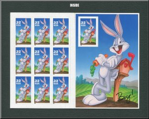 Looney Toons US postage stamps / Bugs Bunny /  1998