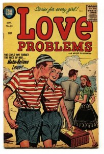 Love Problems #35 1955- Harvey Romance- Bob Powell vg