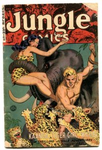 Jungle Comics #157 1953- Tiger Girl by Matt Baker G/VG