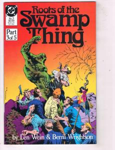 Roots of the Swamp Thing (1986) #3 DC Comic BookHH4 AD38