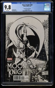 Moon Knight #200 CGC NM/M 9.8 1:1000 Remastered Sketch Variant!