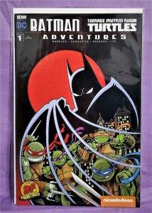 Batman Teenage Mutant Ninja Turtles Adventures #1 DF RE Cover (IDW, 2016)!