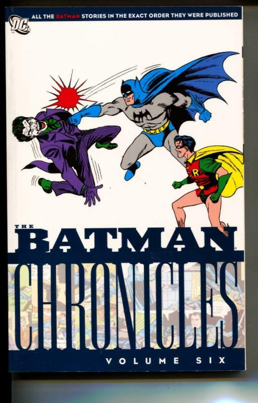 Batman Chronicles Volume 6 TPB trade