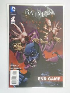 Batman Arkham City End Game #1 8.0 VF (2013)
