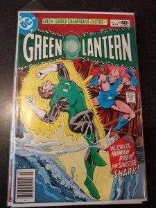 Green Lantern #126-1980 fn 6.0 Denny O'Neil Power War The Shark HIGH GRADE NM