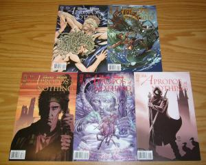 Sir Apropos of Nothing #1-5 VF/NM complete series peter david - all B variants