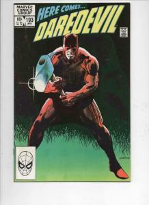 DAREDEVIL #193 VF  Murdock, Revenge, 1964 1983, more Marvel in store