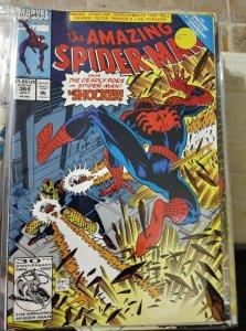 Amazing Spider-Man  #364 1992 marvel the shocker scrouge