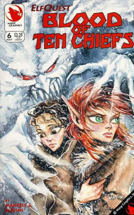 Elfquest: Blood of Ten Chiefs #6 VF/NM; Warp | save on shipping - details inside