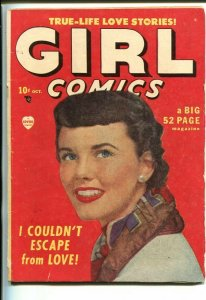 GIRL COMICS #1-1949-GOOD ART-SOUTHERN STATES PEDIGREE-vg