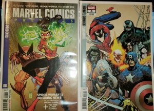 Marvel Comics Presents #8 (Marvel 2019) Cover A & B Variant White Fox Solo Story