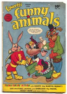 Fawcett's Funny Animals #61 1948- Golden Age low grade
