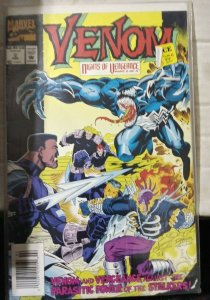 VENOM- NIGHTS OF VENGEANCE  # 2   1994 marvel  MINI SERIES +