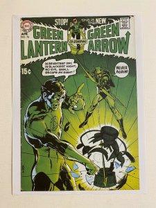 Green Lantern Green Arrow #76 DC Comics poster by Neal Adams