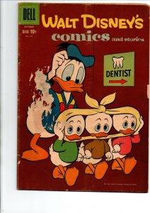 Walt Disney's Comics and Stories #241 - Dell - 1960 - Very Good