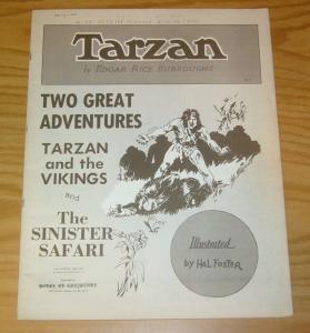 Tarzan Sunday Page Folio #5 FN edgar rice burroughs - hal foster - bibliophiles