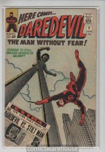 DAREDEVIL (1964 MARVEL) #8 FN+ A08515