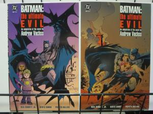 BATMAN ULTIMATE EVIL (1995) 1-2 (5.95 CVR) A VACHSS