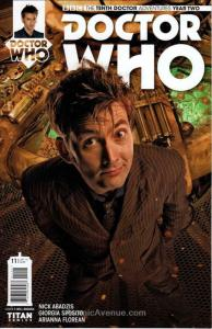 Doctor Who: The Tenth Doctor Year Two #11B VF/NM; Titan | save on shipping - det