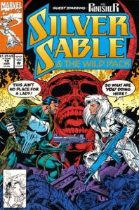 Silver Sable and the Wild Pack #10, NM (Stock photo)