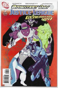 Justice League: Generation Lost   # 7 FN (Brightest Day)