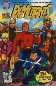 Ex-Mutants (1992 series) #10, NM + (Stock photo)