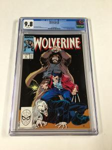 Wolverine 6 Cgc 9.8 White Pages 1988 Series