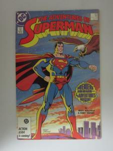 Adventures of Superman (1987) #424, 6.0