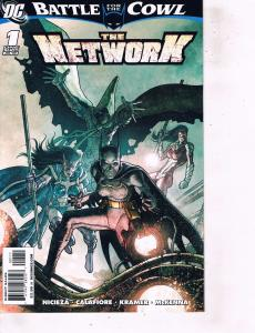 Lot Of 2 Comic Books DC Battle for Cowl Network #1 and Batman Barcelona #1 LH6