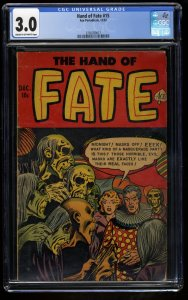 Hand of Fate #15 CGC GD/VG 3.0 Cream To Off White