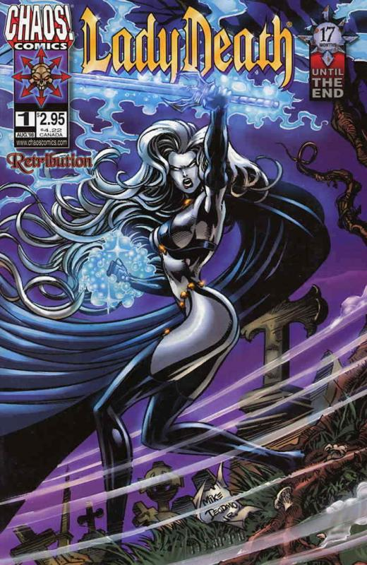 Lady Death: Retribution #1 VF/NM; Chaos | save on shipping - details inside