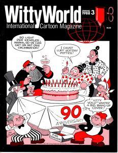 WittyWorld- International Cartoon Magazine Spring 1988 #3 Ralph Bakshi