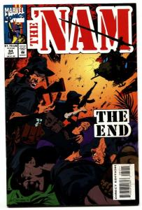 The 'Nam #84-Hard to find last issue-Low Print Run-Marvel VF/NM