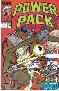 Power Pack #31 (Aug 87) - Power Pack vs. Trash! - Marvel Comics