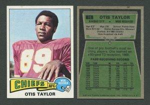 1975 Topps Football /  Otis Taylor #75  /  NM-MT