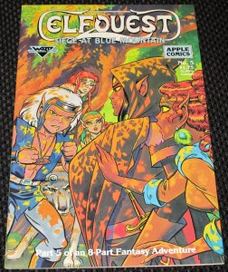ElfQuest: Siege At Blue Mountain #5 (1987)