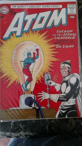 The Atom #8 (DC, 1963) Condition: FN+