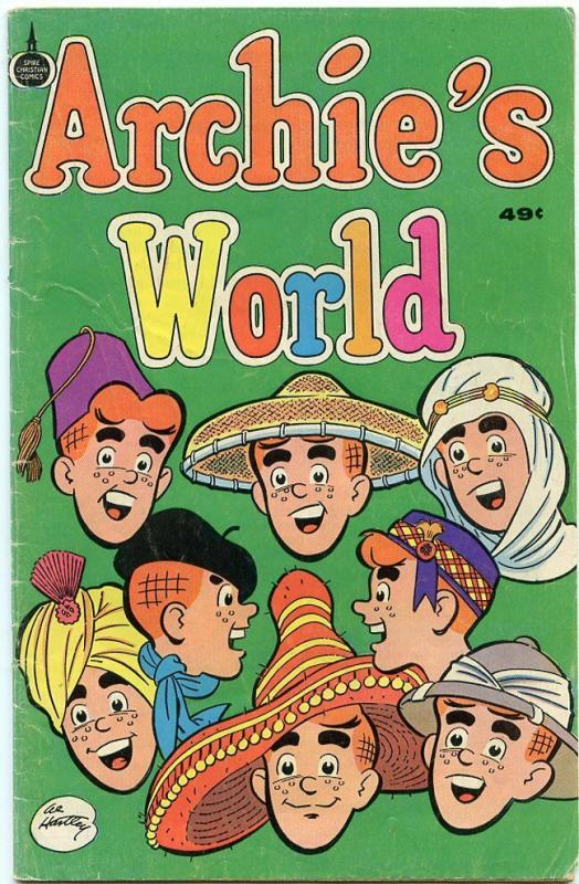 ARCHIE'S WORLD-PAGES-32-DATED:1976