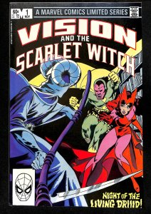 Vision and the Scarlet Witch #1 (1982)
