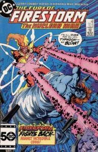 Fury of Firestorm (1982 series) #44, NM- (Stock photo)