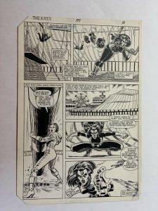 Uncanny X-men 177 Pg. 10 John Romita + Jr. Original Art Rogue Mystique Fight