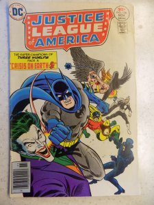 JUSTICE LEAGUE OF AMERICA # 136 DC JOKER COVER ACTION ADVENTURE