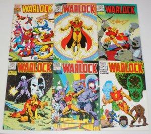 Warlock vol. 2 #1-6 FN complete series - strange tales 178 - special edition set