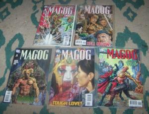 MAGOG # 1 2 3 4 5 2009 DC COMICS JSA JUSTICE SOCIETY GIFFEN KINGDOM